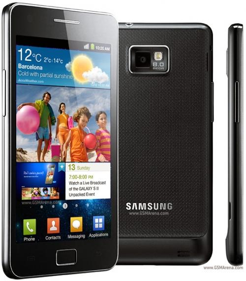 Розпочався продаж смартфонів Samsung Galaxy S II.